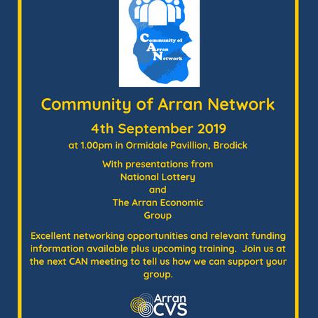Community of Arran Network 04/09/2019
