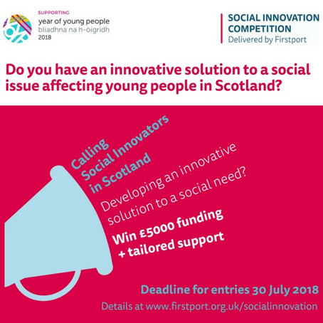 Are You Scoland's Next Social Innovator