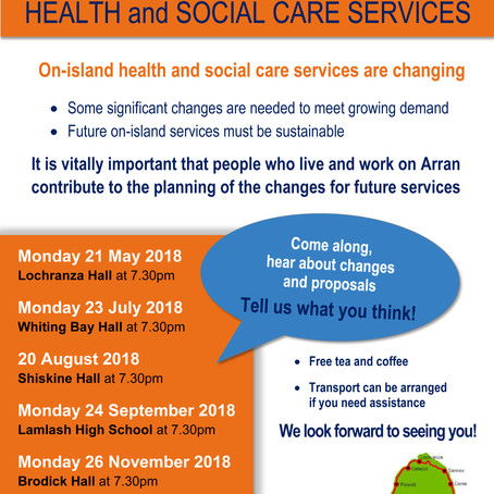 On-island health and social care services are changing