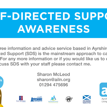 Self-Direct Support Awareness