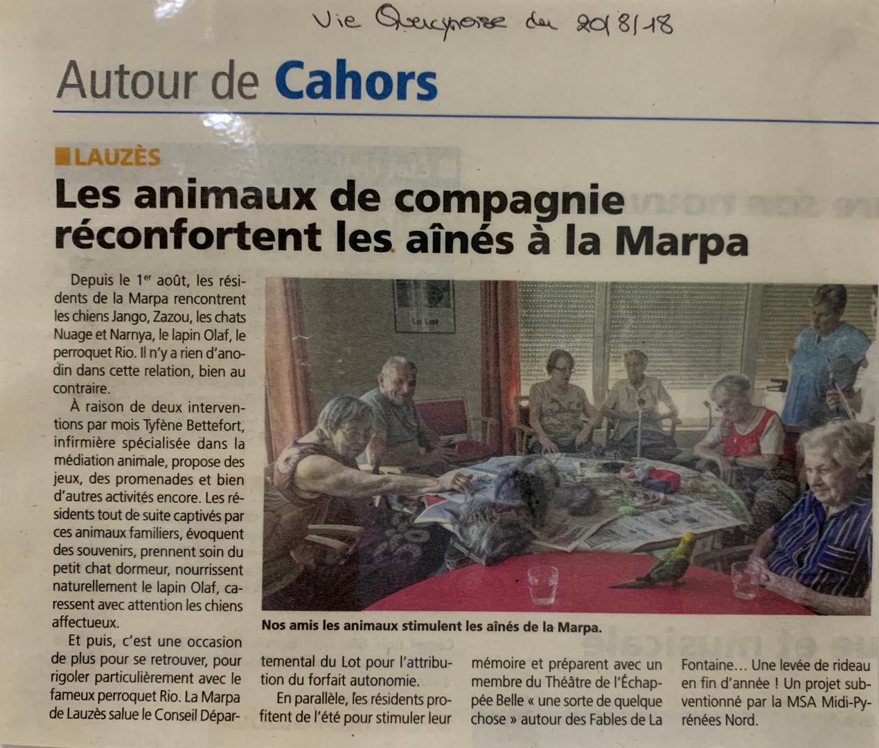 MARPA de Lauzès
