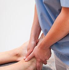 Osteopatisk behandling ankel