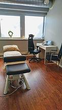 Behandlingsrom ved Høyden Osteopatiklini