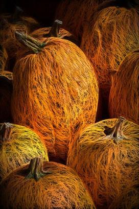 Straw Pumpkin
