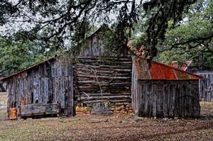 Texas Hill Country Barn