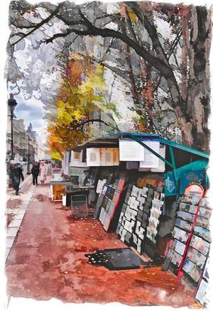 Book Sellers - Paris