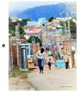 Photo Painting- Cuba