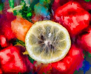 Lemon & Strawberries