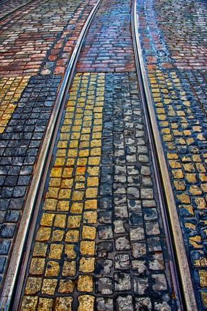Colorful Cobble Stones