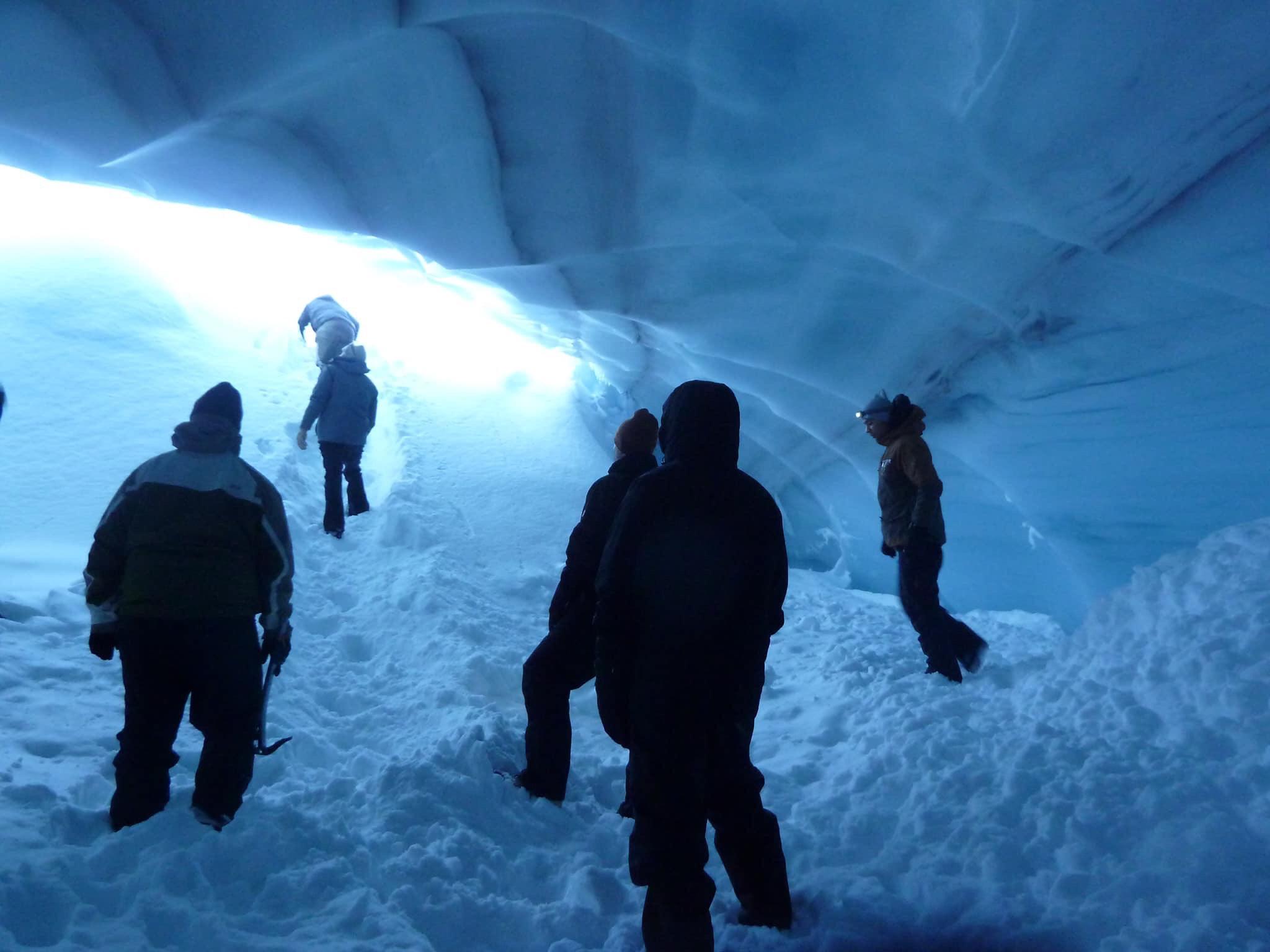 Adam Ice Cave Jan class