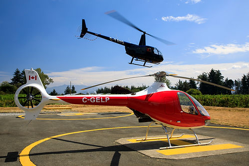 Most sold helicopter in North America R44 and the first Cabri in Canada