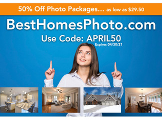 Real Estate Photography 50% OFF!