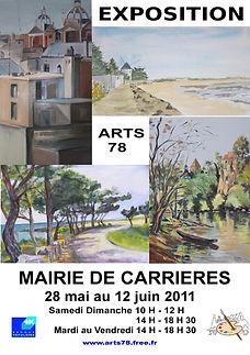 Arts78 expo Mairie 2011.jpg