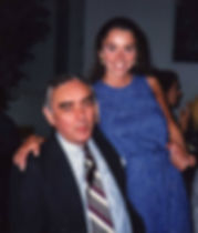 Photo of Lynn Swords with her dad