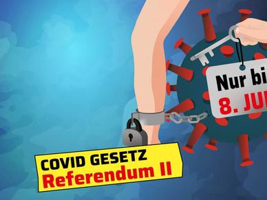 Das Covid Gesetz beendet die freie Schweiz!