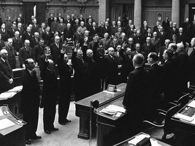 Als die Schweiz dem Bundesrat die Lust am autoritären Regieren austrieb