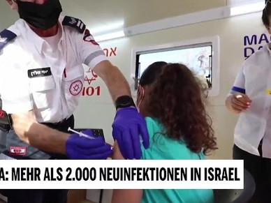 Trotz Impf-Rekord: Corona-Zahlen in Israel explodieren
