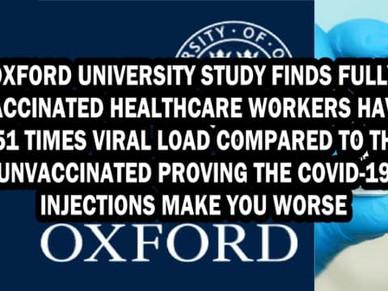 Geimpften tragen die 251-fache Viruslast im Vergleich zu ungeimpften Personen