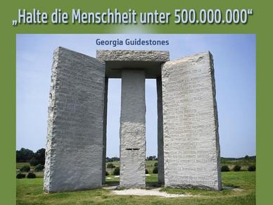 Georgia Guidestones - Countdown zum Great Reset?