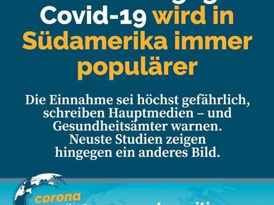 Chlordioxid gegen Covid-19 wird in Südamerika immer populärer