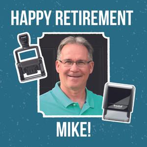 Mike Lawler Retires from Trodat/uTypia