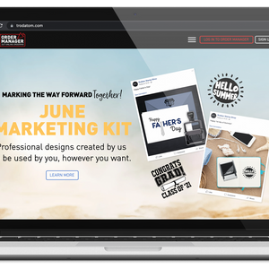Missing out on your Marketing Kits?