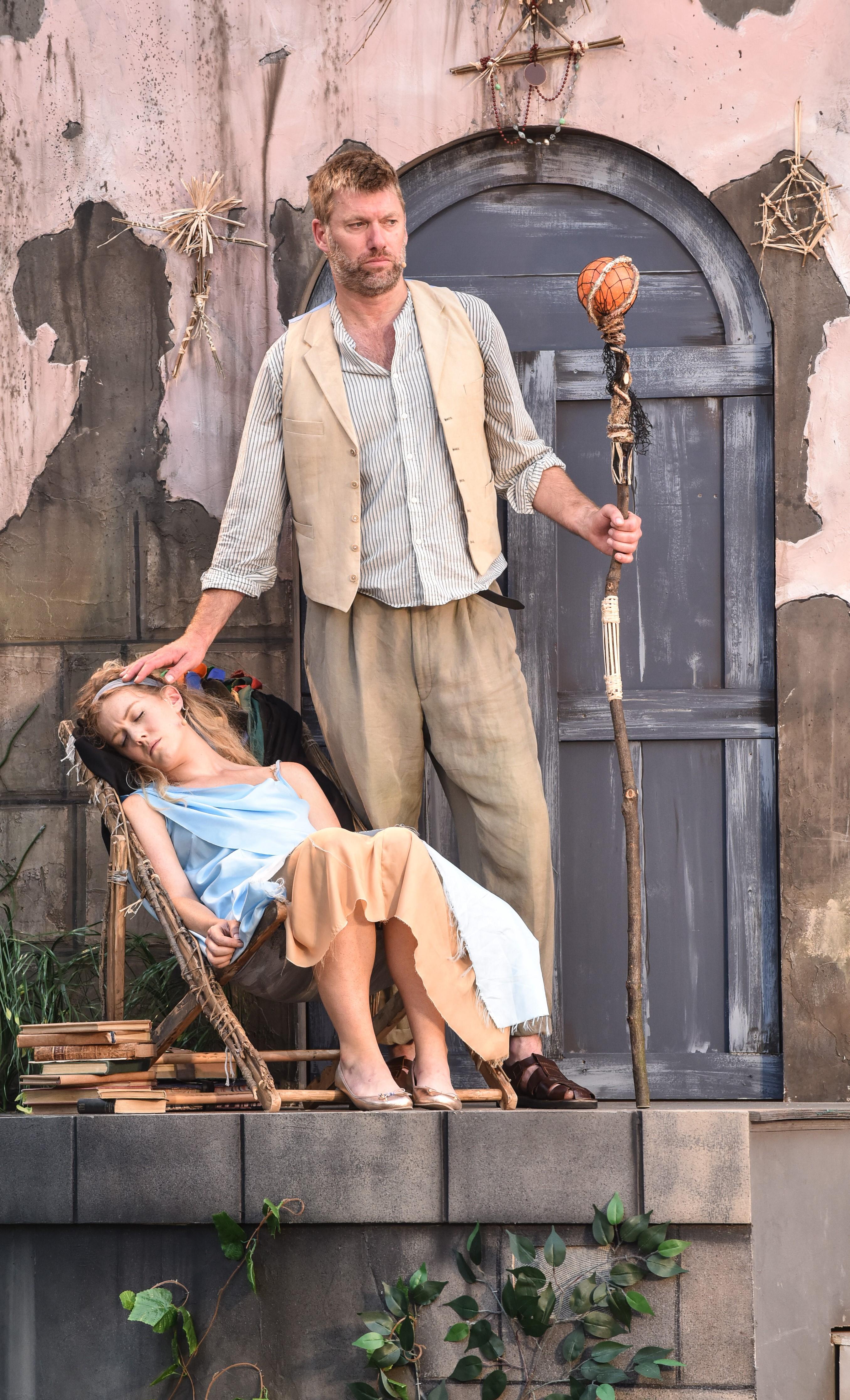 Stephen Beckett and Grace Carter