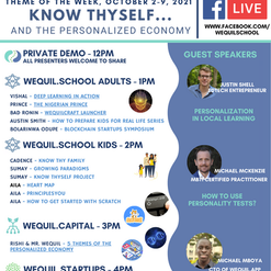 Know Thyself And The Personalized Economy Demo Day Agenda