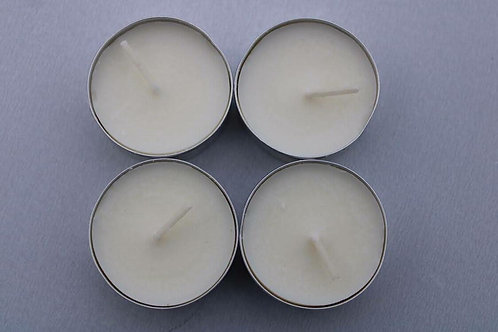 Ivory tealight candles