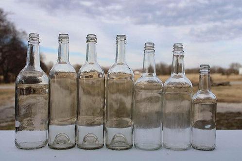 Tall Glass Bottles