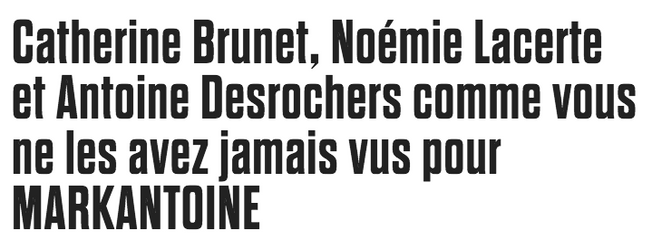 Muses de Montréal. Journal de Montréal