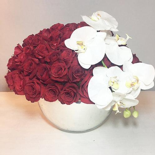 Reflejos con Orquídea