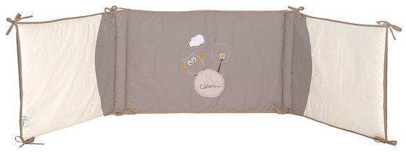 Tour de lit bébé pour lits à barreaux 60x120 cm ou 70x140 cm