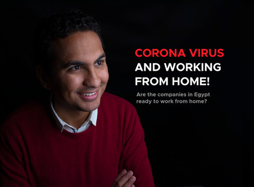 Egypt: Corona virus and working from home?