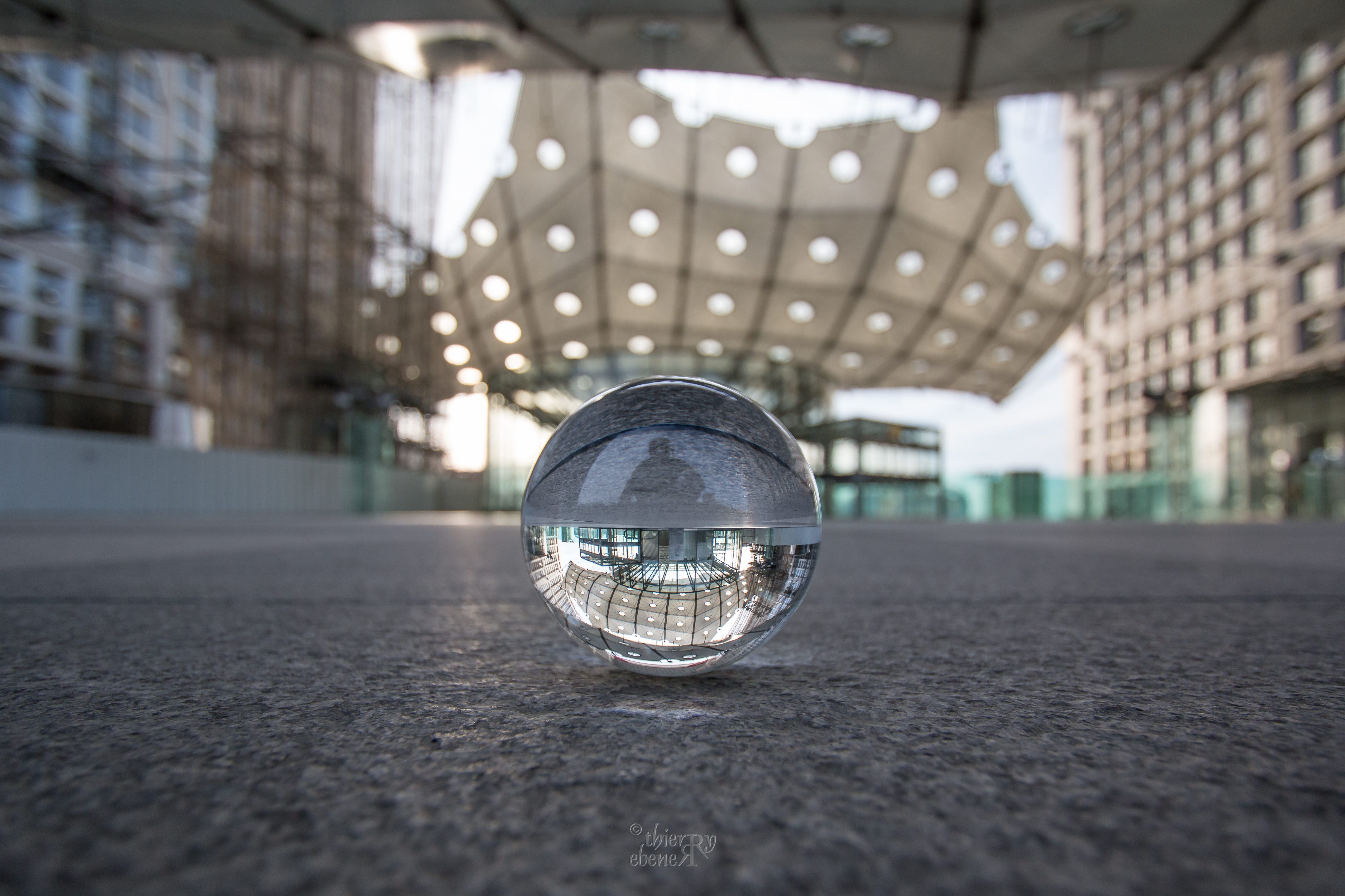 Depuis l'Arche de la Défense - Paris
