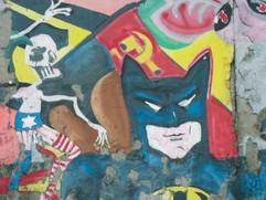 "East side gallery (2004) - ""Sonic Malade"" par Greta Ida Csatlós - 1990"