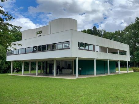 """La villa SAVOYE, à l'apogée de la période des maisons """"puristes"""""""
