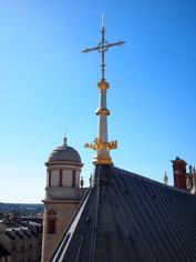 Flèche du toit de la Chapelle Palatine