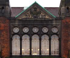 Façade de la bibliothèque royale