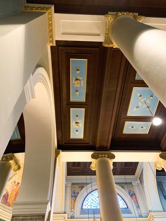 Colonnes et Plafond