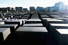 Le Mémorial aux Juifs assassinés d'Europe.