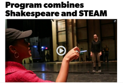 Shakespeare STEAM on WDIV