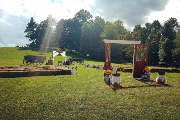 Ceremony with Wagons