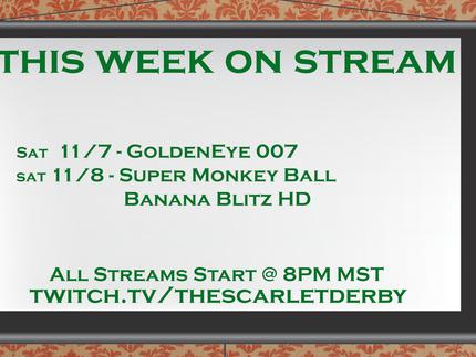 This Week on Stream (10/07)