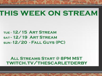 This Week on Stream (12/15)
