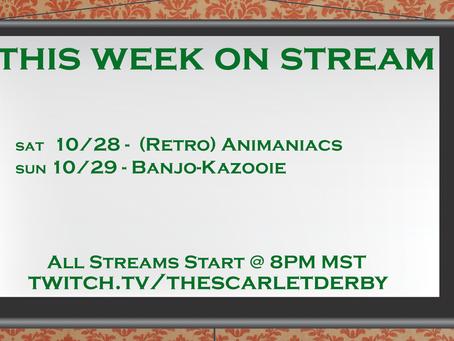 This Week on Stream (11/28)