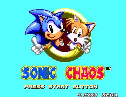 Sonic Chaos 2/21