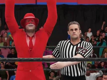 The Scarlet Derby wrestles via twitch.tv/thegreathaaf