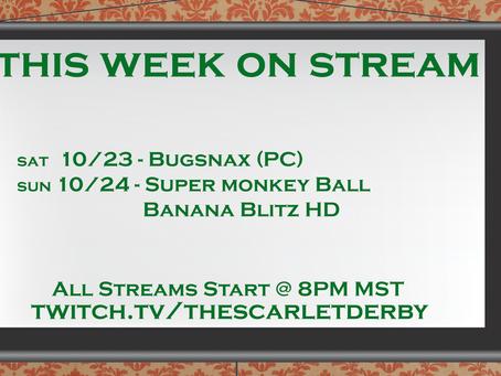 This Week on Stream (11/21)