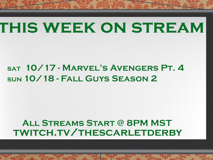 This Week on Stream (10/17)